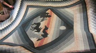 Horse quilt 2015