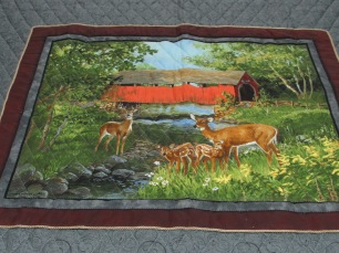 Deer Panel 2015 auction