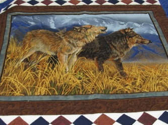 Wolf / Log cabin 2015 auction