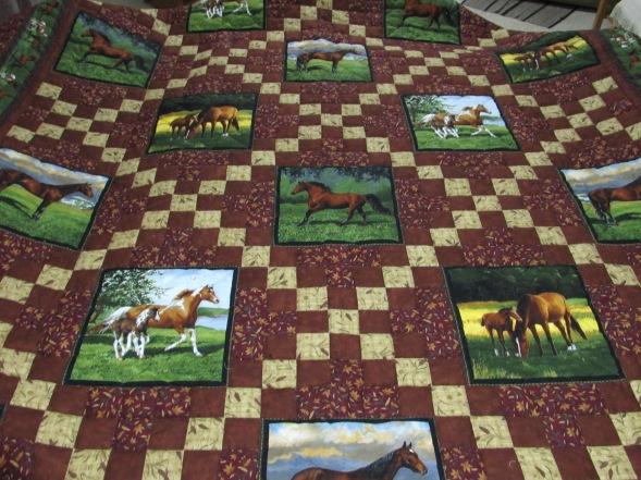 Horse/ Irish Chain 2015 auction